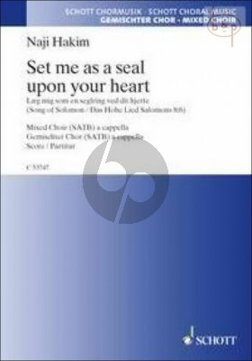 Set me as a Seal upon your Heart (Song of Solomon 8:6)