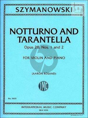 Notturno and Tarantella Op.28 No.1 - 2