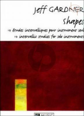 Shapes 10 Intervallic Studies for any Melodic Instrument
