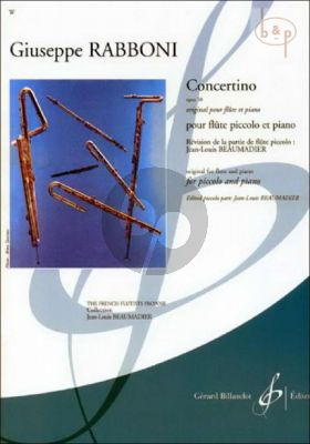 Concertino Op.50 (orig. Flute) (edited by J.L.Beaumadier)