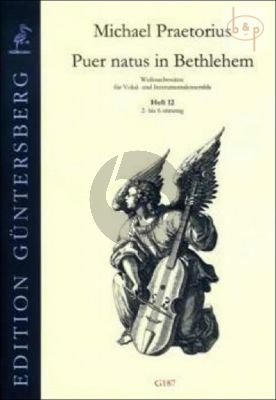 Puer natus in Bethlehem (Christmas Settings for Vocal and Instr.Ens) Vol.12 (2 - 6 Part)