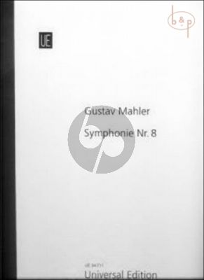 Symphony No.8 (Soloists-Choir-Orch.) (Full Score)