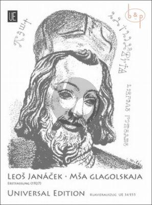 Missa Glagolskaja (Vocal Score) (First Version of 1927)