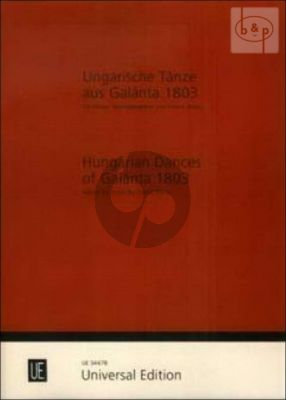 Hungarian Dances of Galanta (1803)