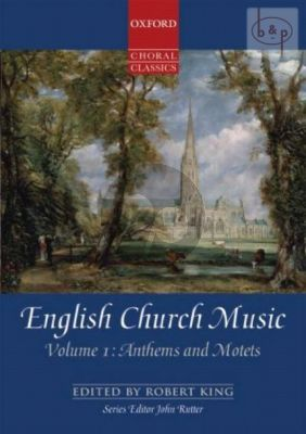 English Church Music Vol.1 Anthems and Motets