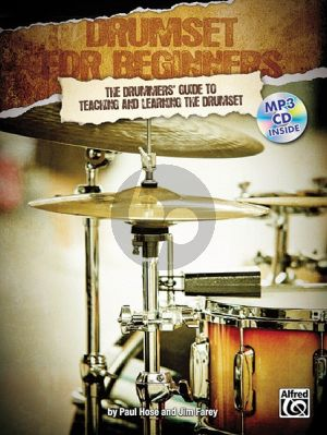 Hose-Farey Drumset for Beginners (Bk-MP3CD)