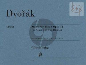 Slawische Tanze Op.72 Klavier zu 4 Handen