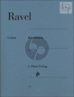 Trio (1915) Violin-Violoncello-Piano (Score/Parts)