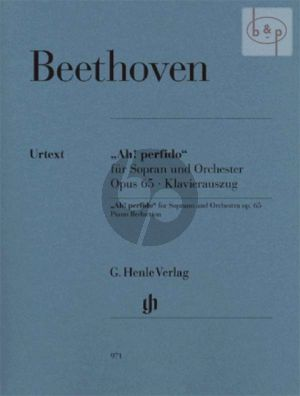 Ah! Perfido Op.65 (Soprano-Orch.) (piano red.) (edited by Ernst Herttrich)