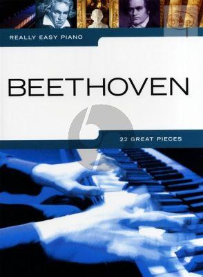 Really Easy Piano Beethoven