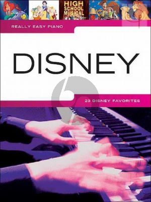 Really Easy Piano Disney (incl. Lyrics)
