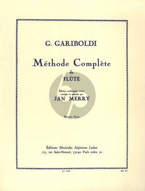 Gariboldi Methode Opus 128 Vol. 1 Flute (Jan Merry)