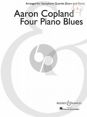 4 Piano Blues (SATB)