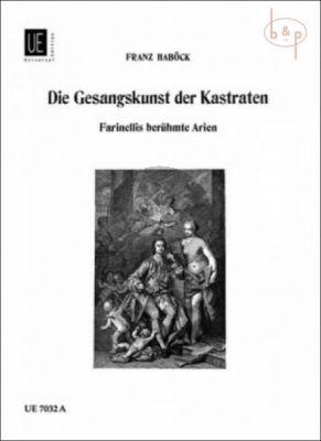 Die Gesangkunst der Kastraten (Stimmbiographie in Beispielen)