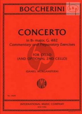 Concerto B-flat major G.482 (Commentary and Preparatory Exercises)