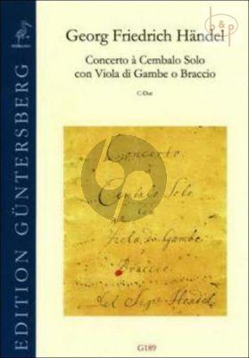 Concerto C-major (Cembalo solo-Viola da Gamba o Braccio)