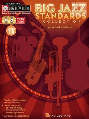 Big Standards Collection (Jazz Play-Along Series Vol.118)