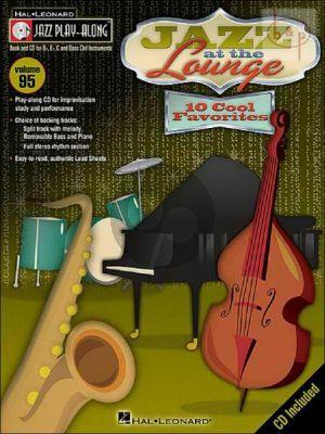 Jazz at the Lounge (10 Cool Favorites) (Jazz Play-Along Series Vol.95)