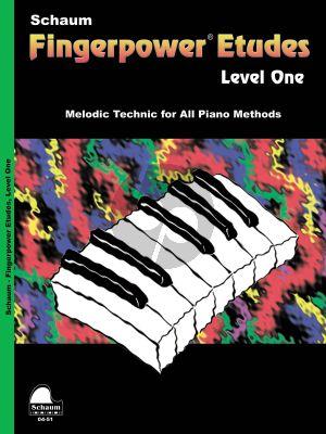 Schaum Fingerpower Etudes Level 1 Piano (Fingerkraft)