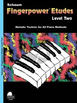 Schaum Fingerpower Etudes Level 2 Piano