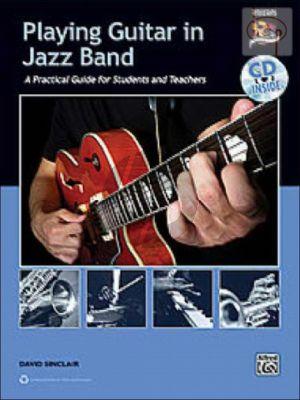 Playing Guitar in Jazz Band