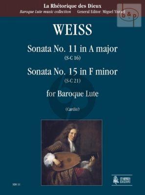 Sonata No.11 A-major (SC 16) and Sonata No.15 f-minor