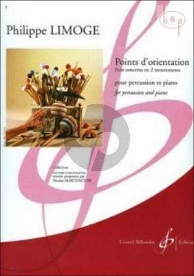 Points d'orientation (Petit Concerto en 2 Mouv.) (Percussion-Piano)