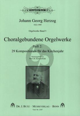 Orgelwerke Band 5 Choralgebundende Orgelwerke 2