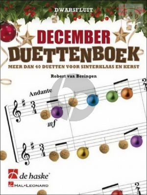 Beringen December Duettenboek (2 Flutes) (easy to interm.level)