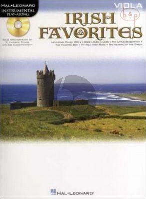 Irish Favourites Play-Along (Viola)