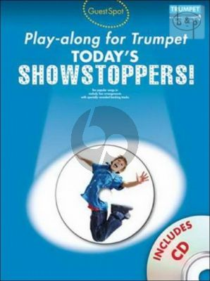 Guest Spot Today's Showstoppers Play-Along (Trumpet) (Bk-Cd)