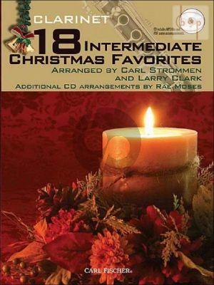 18 Intermediate Christmas Favorites (Clarinet)