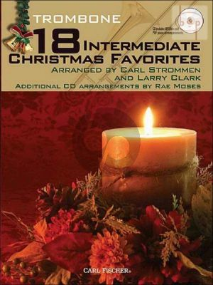 18 Intermediate Christmas Favorites (Trombone)