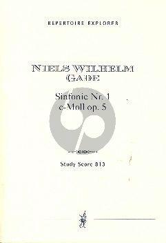 Symphony no.1 c-minor Op.5 Study Score