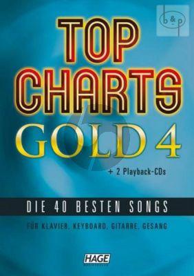 Top Charts Gold 4 (Piano[Keyboard-Voice-Guitar])