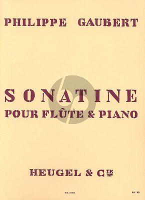 Gaubert Sonatine for Flute and Piano