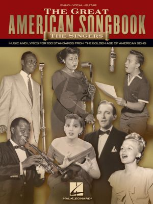 The Great American Songbook - The Singers Piano-Vocal-Guitar
