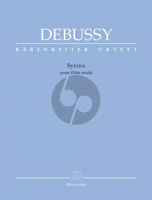 Debussy Syrinx Flute solo (edited by Douglas Woodfull-Harris)