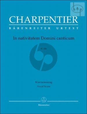 In Nativitatem Domini Canticum H.416 (Soli-Choir-Orch.) (Vocal Score) (lat.)