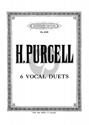 6 Vocal Duets (Reprint Edition)