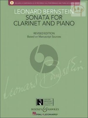 Bernstein Sonata Clarinet and Piano (revised edition) (Bk-Cd) (edited by Richard Walters and Todd Levy)
