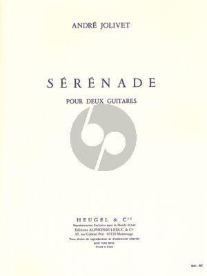 Serenade pour 2 Guitares
