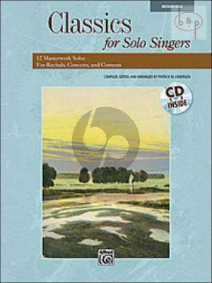 Classics for Solo Singers (12 Masterwork Solos for Recitals-Concerts and Contests) (Medium High)