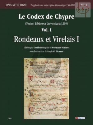 Codex de Chypre Vol.1 Rondeaux et Virelais 1