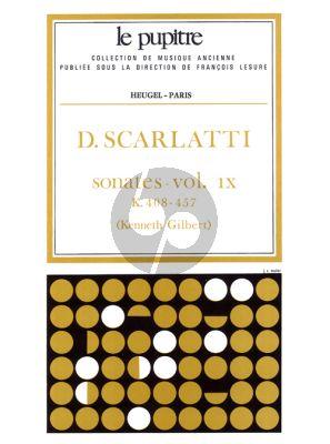 Scarlatti Sonates Vol.9 K.408-457 Clavier (Kenneth Gilbert) (Le Pupitre)