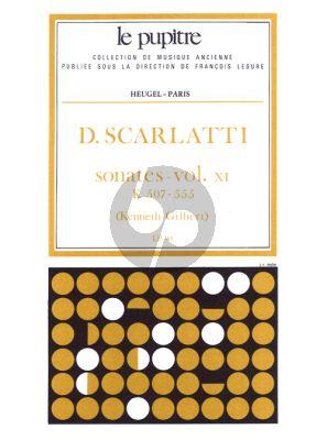 Scarlatti Sonates Vol.11 K.507-555 Clavier (Kenneth Gilbert) (Le Pupitre)