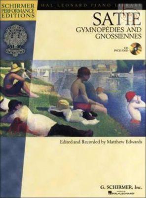 Satie Gymnopedies & Gnossiennes Piano (Book with Audio online) (edited by Matthew Edwards)