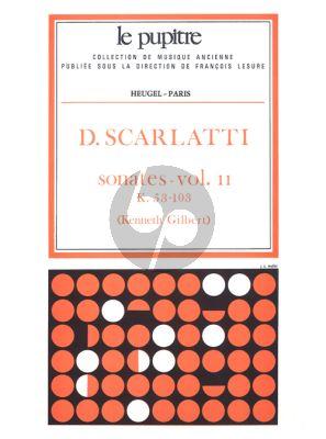 Scarlatti Sonates Vol.2 K.53-103 Clavier (Kenneth Gilbert) (Le Pupitre)