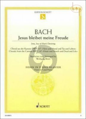 Jesus bleibet meine Freude (Jesu, Joy of Man's Desiring) (Chorale from Cantata no.147)