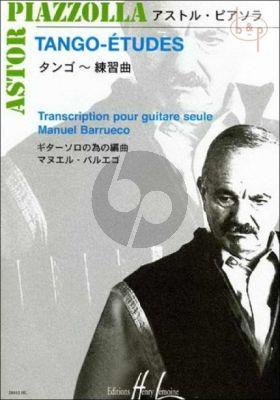 Tango-Etudes pour Guitare